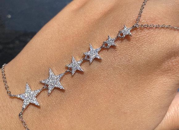 צמיד טבעת כוכבים