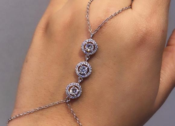 צמיד טבעת עיגולים