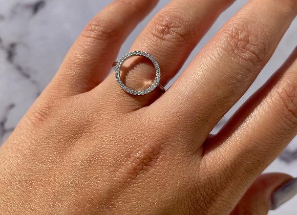 טבעת עיגול לירון