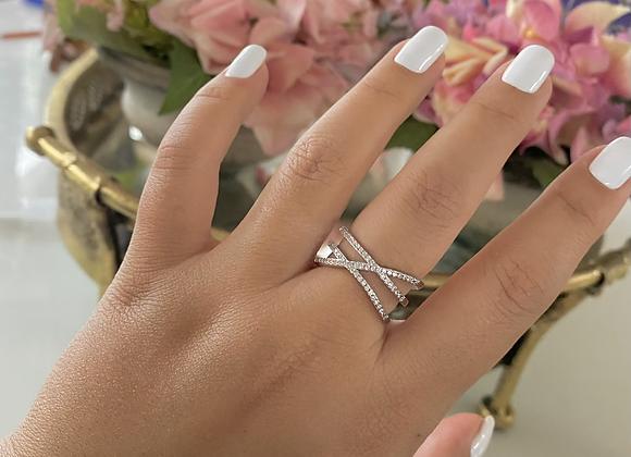טבעת איקס כפולה
