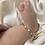 Thumbnail: צמיד מולטי עיניים בייבי