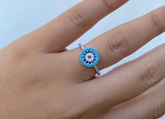 טבעת טורקיזים קטנה