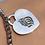 Thumbnail: צמיד כסף כדורים עם לב האש שלי