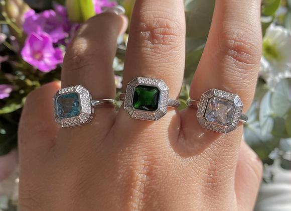 טבעת מרובעת אשלי