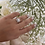 Thumbnail: טבעת מרובעת זרקוניה