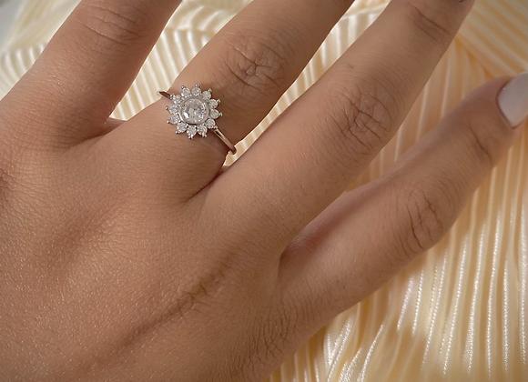 טבעת שמש בגט
