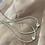 Thumbnail: שרשרת צוקר טיפה/לב טניס