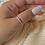 Thumbnail: טבעת פס זרקונים עיגול