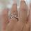 Thumbnail: טבעת כסף  איקס שילוב טיפה