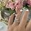 Thumbnail: טבעת לייב כפולה מלבן