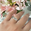 Thumbnail: טבעת שרשרת ואהבת (מלבנית)