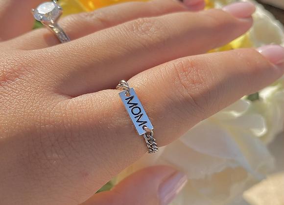 טבעת שרשרת מאמ