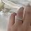 Thumbnail: טבעת פס בגטים פרחים ניו