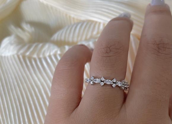 טבעת פס בגטים פרחים ניו