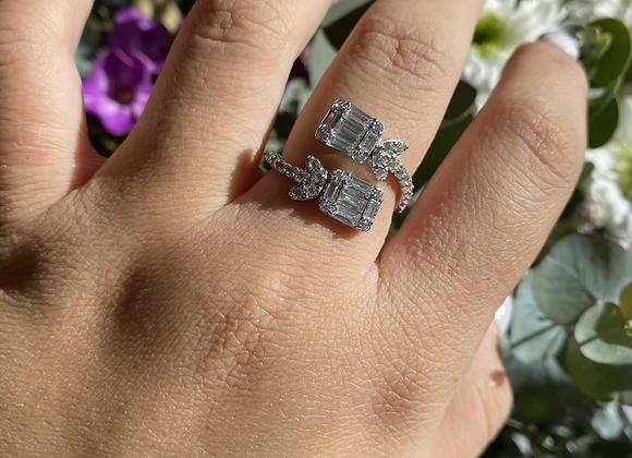 טבעת ספירלה כלה