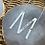 Thumbnail: שרשרת אות סטיל כולל חריטה