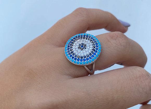 טבעת טורקיזים גדולה