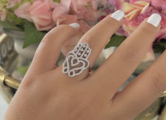 טבעת חמסה סרוגה ניו