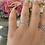 Thumbnail: טבעת הודיה פסים