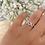 Thumbnail: טבעת אי לאב יו משובצת