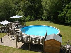 heated pool mill