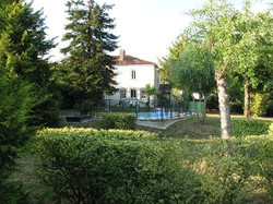 logis swimming pool and garden