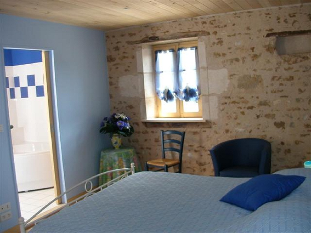 blue bedroom, double ensuite