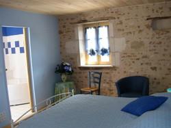 blue bedroom, double ensuite