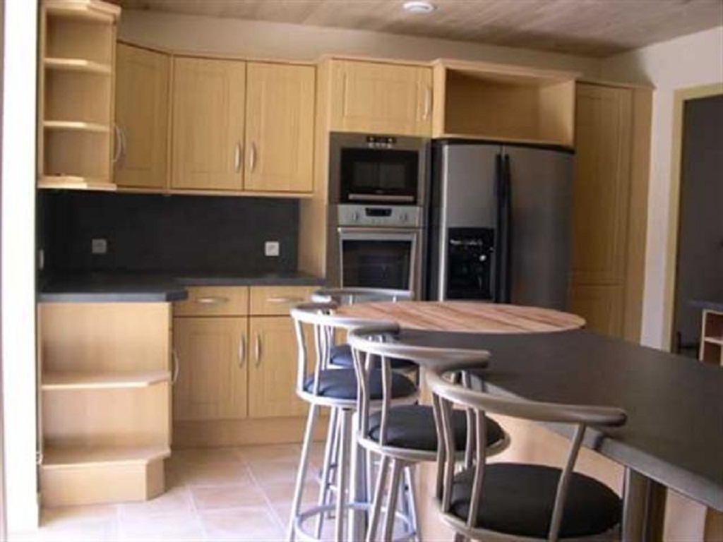 well equipped kitchen at rental home