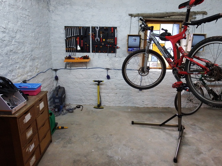 bike workshop and bike store