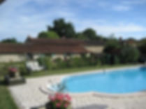 farmhouse holiday rental vendee, heated pool