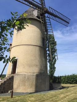 windmill sails at holiday home