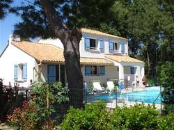 La Tranche Villa with private heated pool