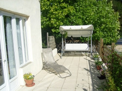 3 Bedroom gite patio