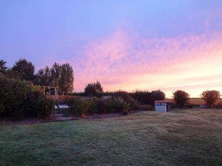 Dawn at Les Deux Chenes 2