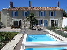 3 bedroom slef catering holiday rental homes in Vendee and Poitou Charente