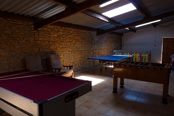 La Croix Liaud Games room