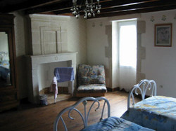 Cottage Upstairs-Bedroom
