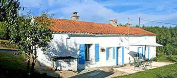 2 bedroom cottage, holiday rental vendee