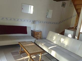Gite 1 lounge area