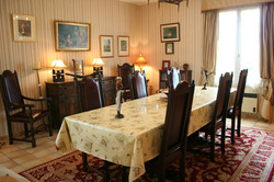 dining room, maison bourgeois