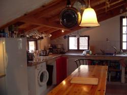 kitchen at Las razes