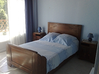 Gite 3 ground floor double bedroom