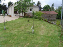 lesm frontgarden, house, barn