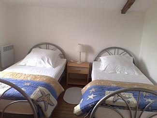 Gite 3 first floor twin room