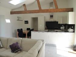 gite kitchen living area