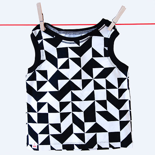 ärmelloses Shirt - Größe 98