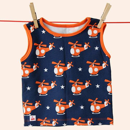 ärmelloses Shirt - Größe 80