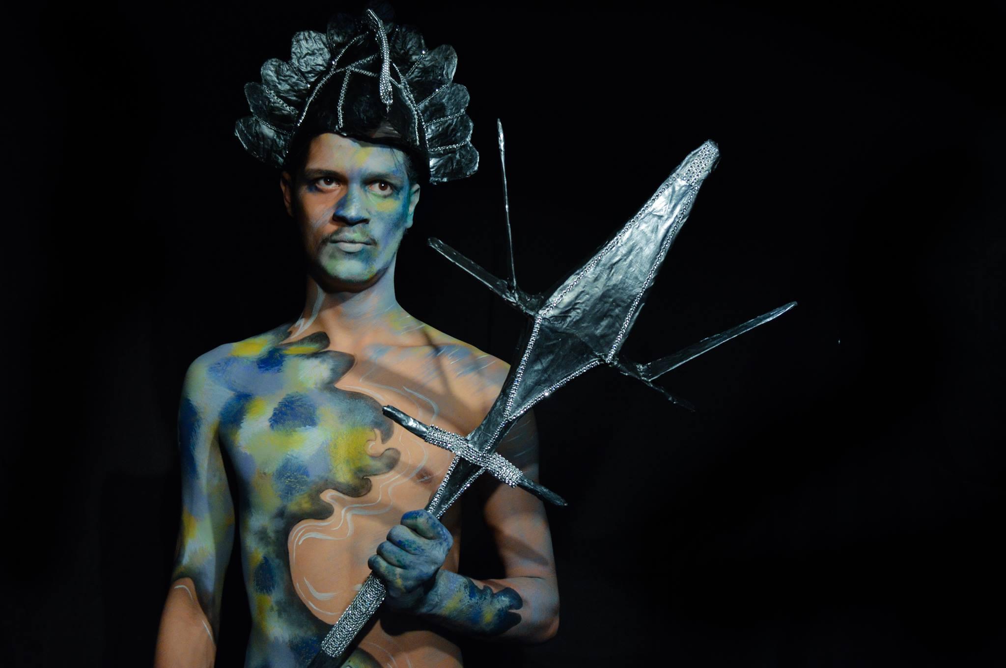 body painting lyon