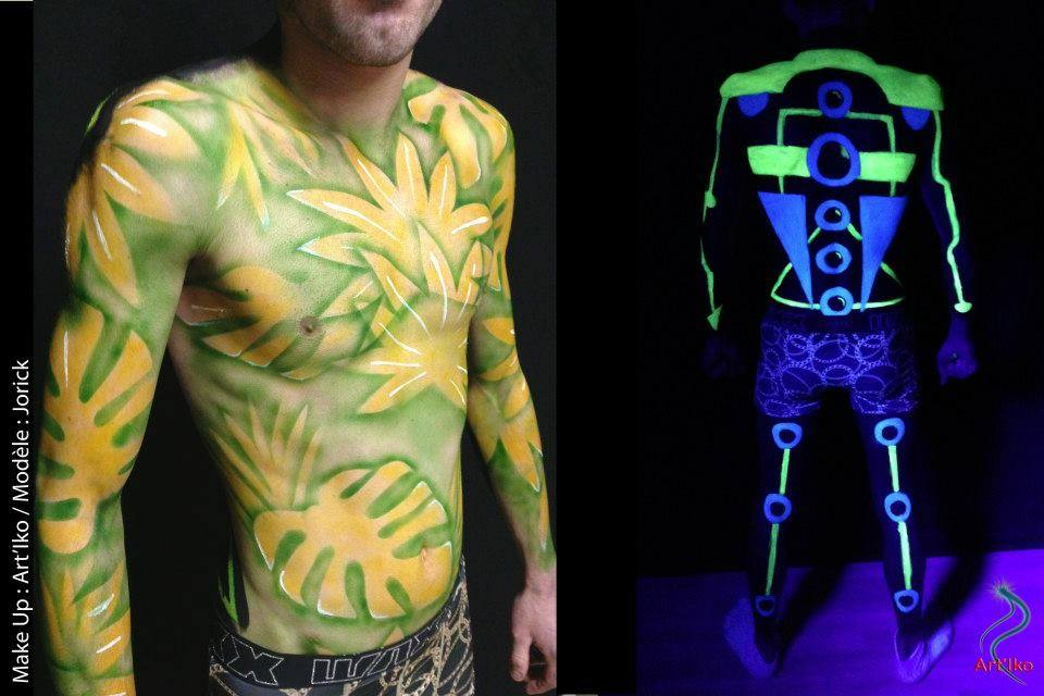 body painting lyon